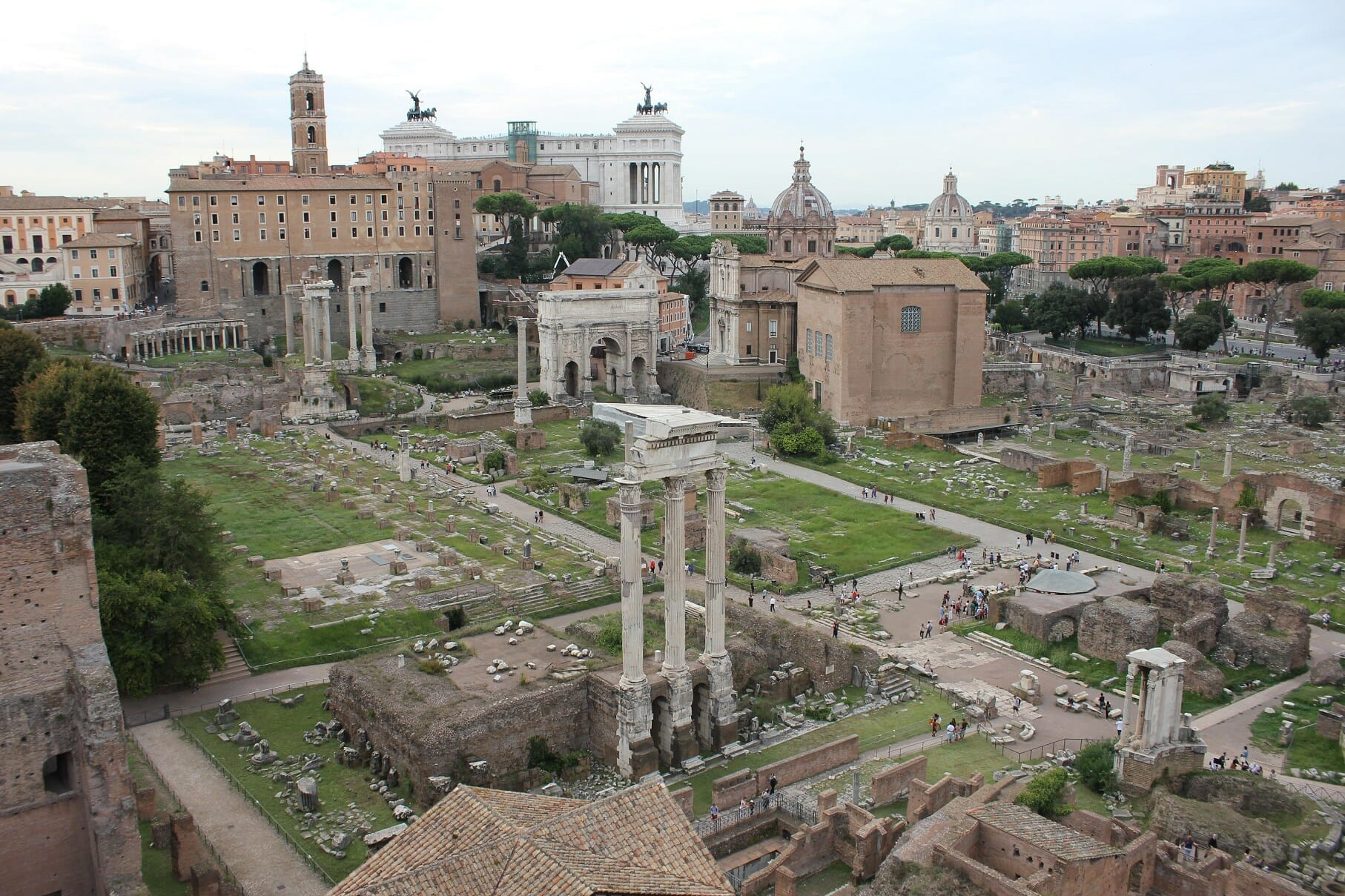 things to do in Rome the roman forum and palatine hill rome