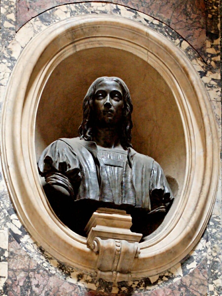 Pantheon Rome Bust Raphael