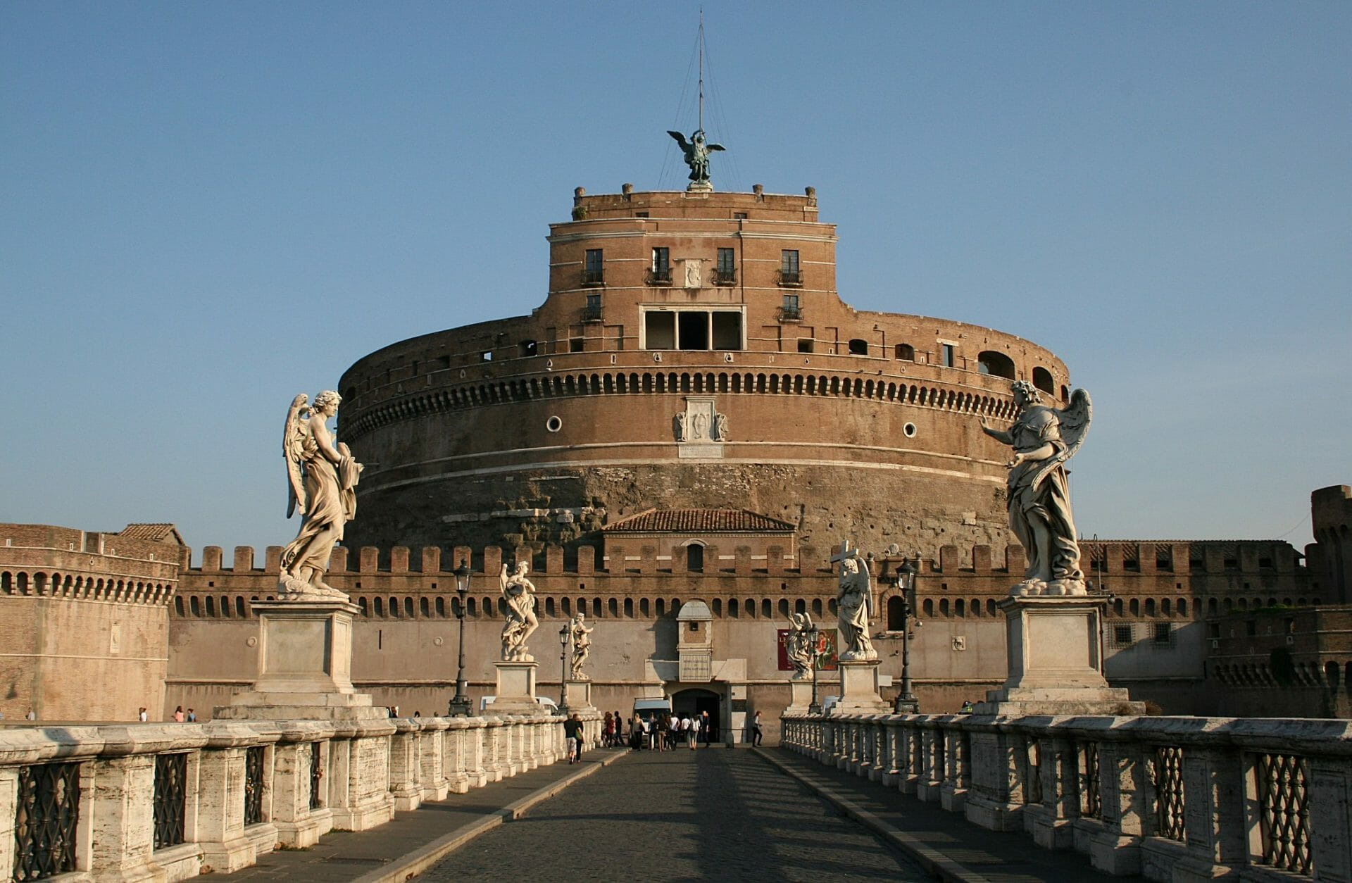 Best things to do in Rome Castel Sant Angelo