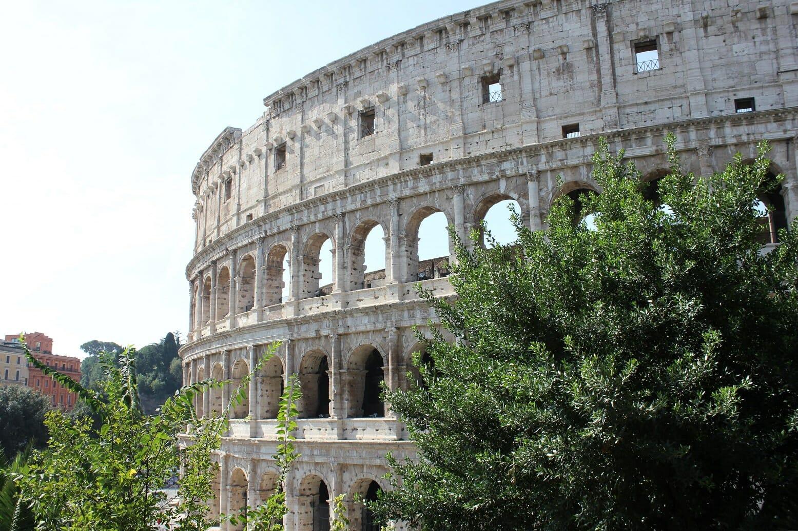 Roman Forum Colosseum