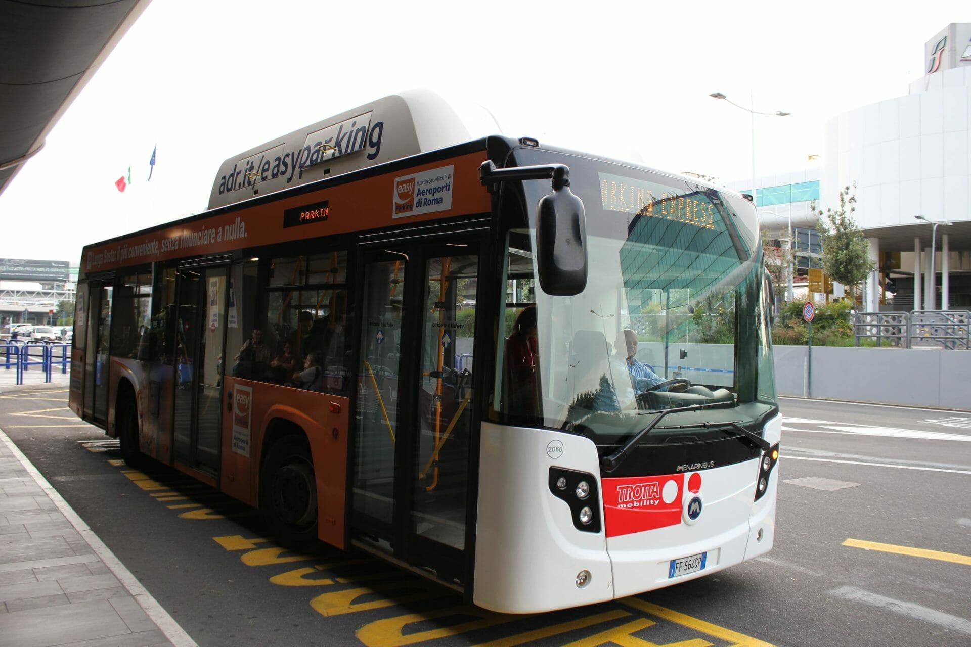 Rome Airport Fiuminico Bus
