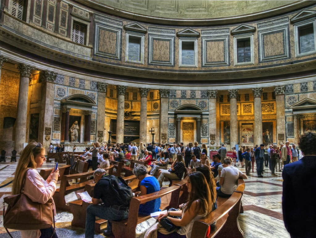 inside Pantheon Rome tickets