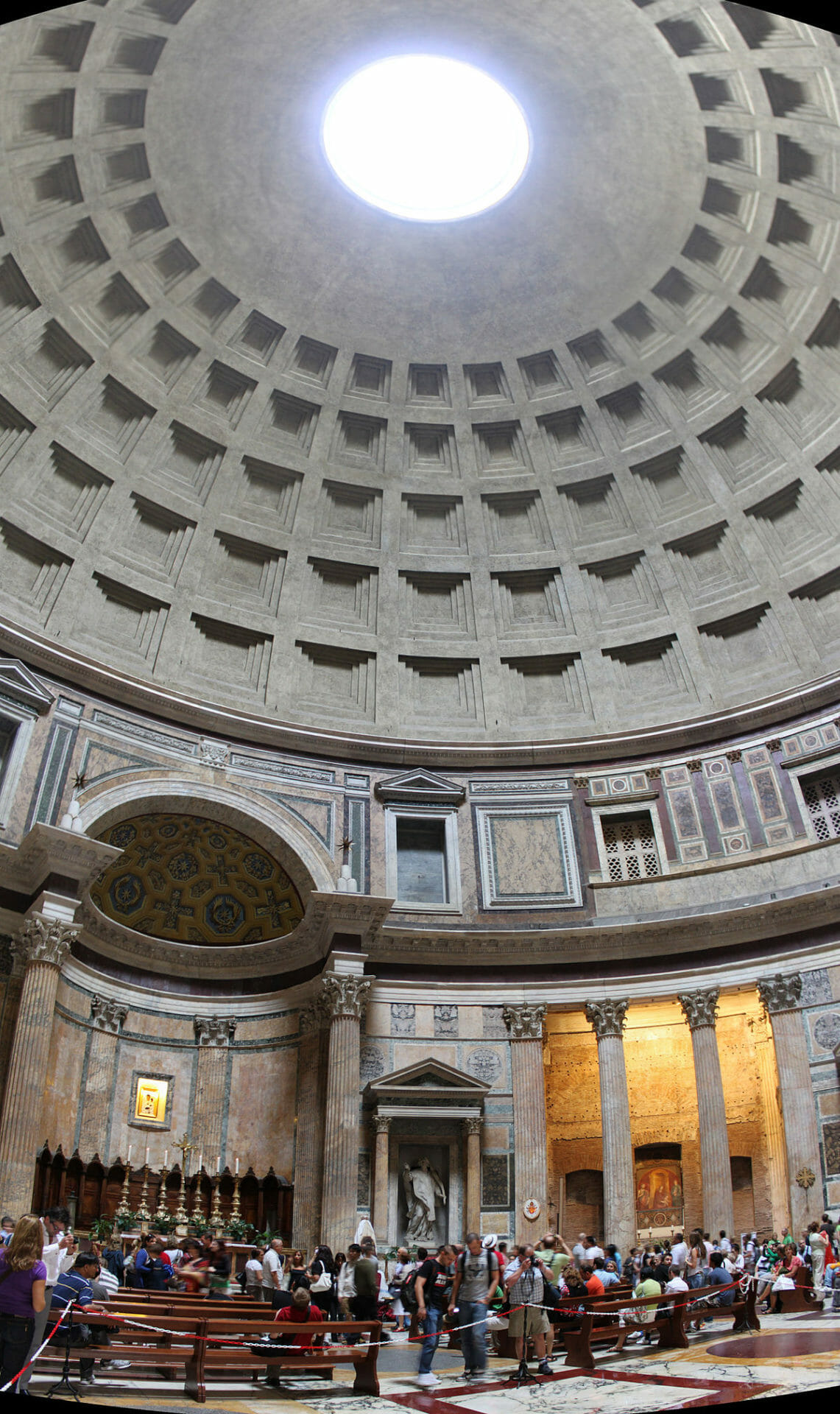 Pantheon Rome tickets Dome