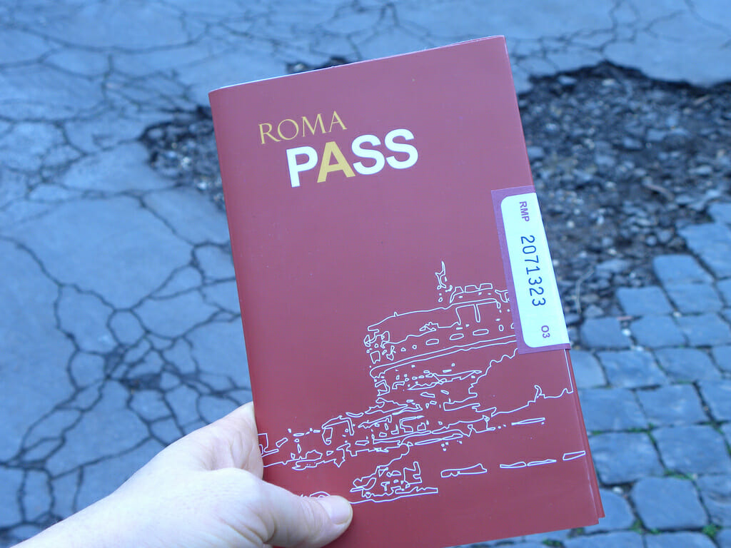 how to Skip the Line in rome with Roma Pass