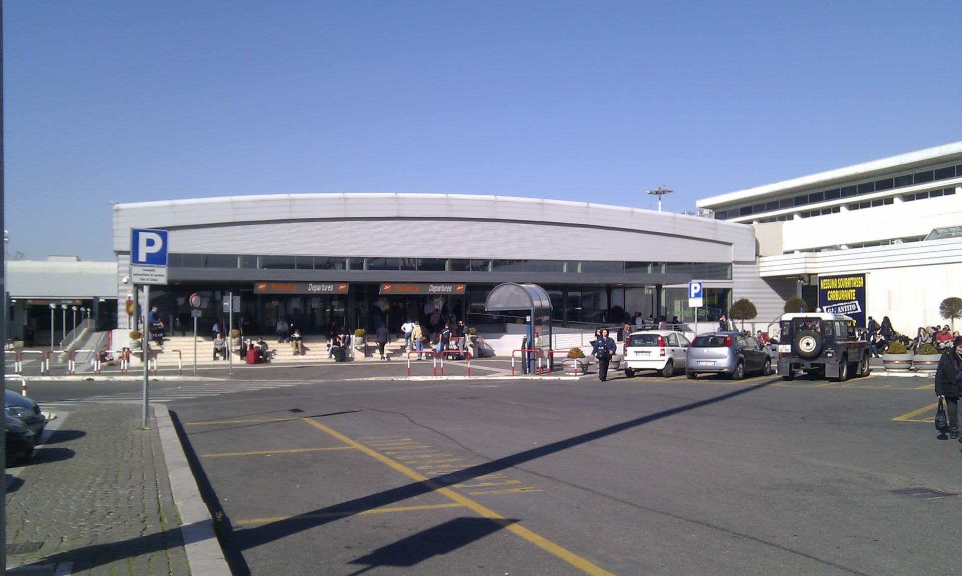 Rome international airport Ciampino