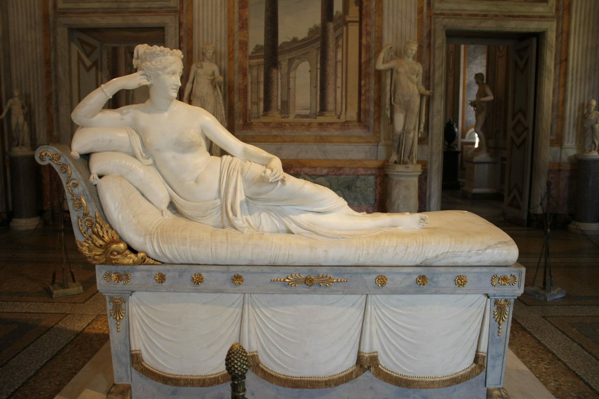 visit Gallery Borghese Rome