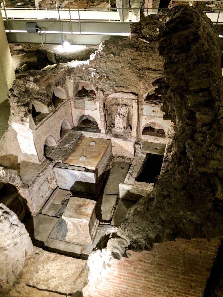 Catacombs of Rome Vatican Necropolis