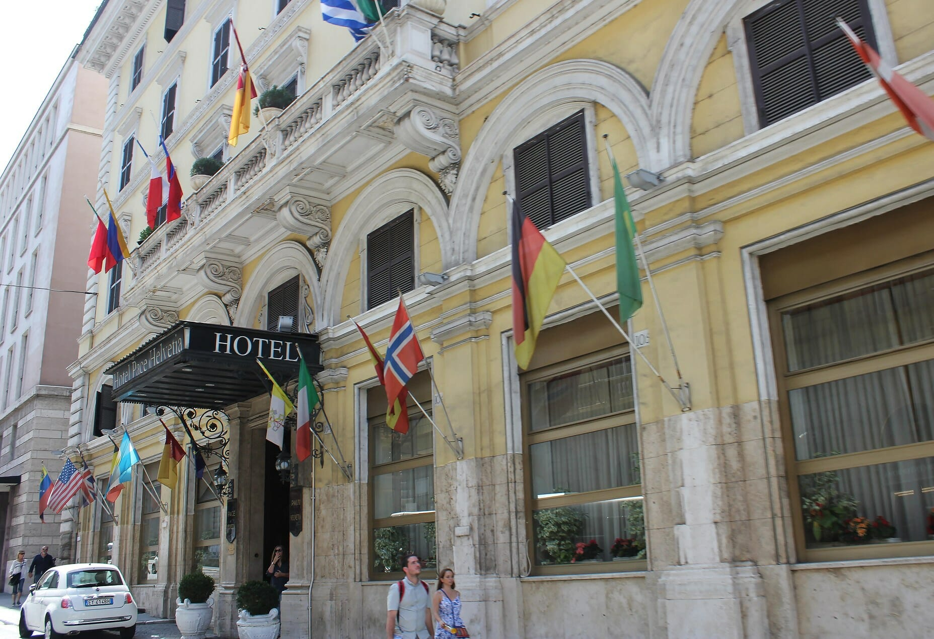 Stay in rome hotel pacehelvetia