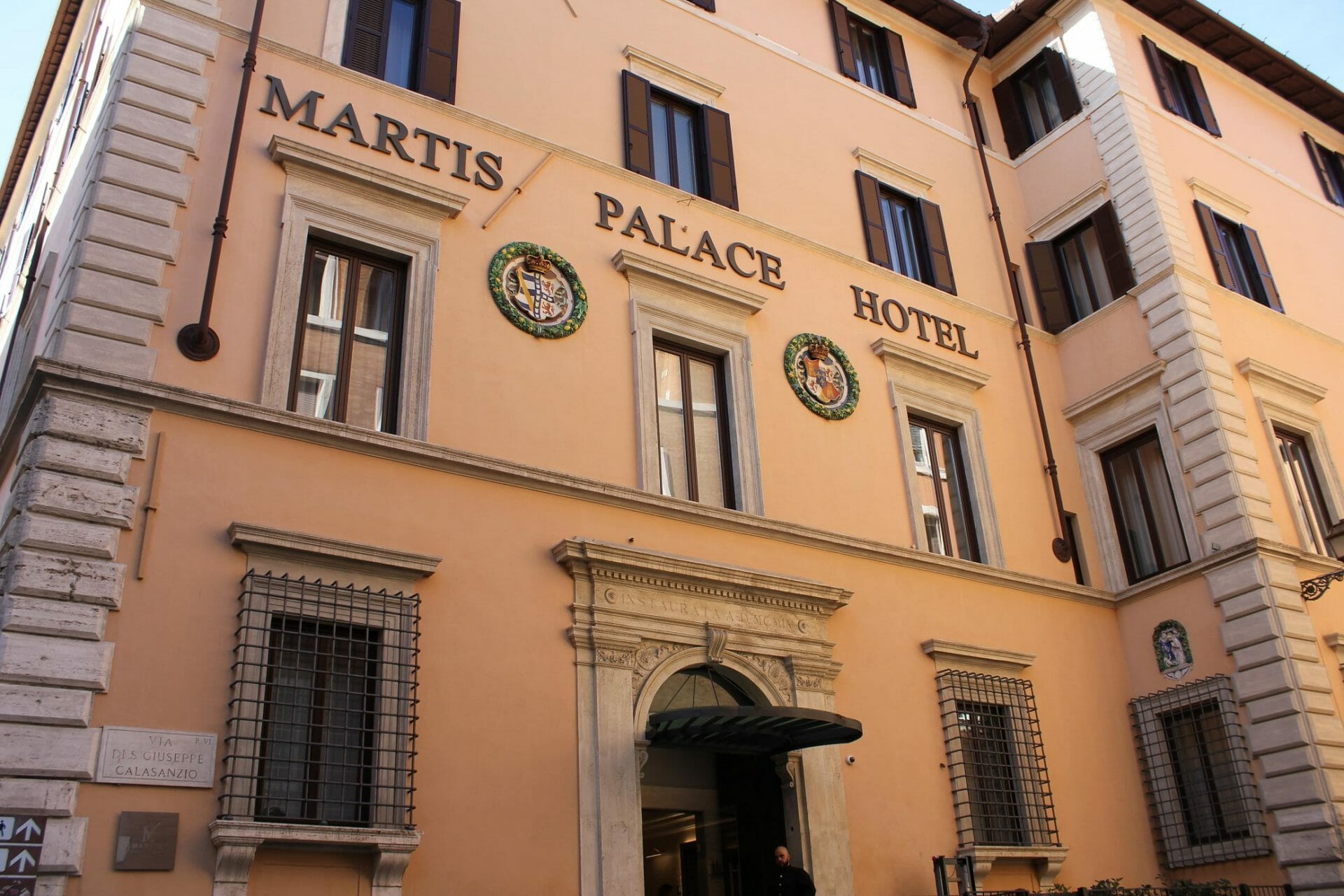 where to Stay in Rome Martis hotel