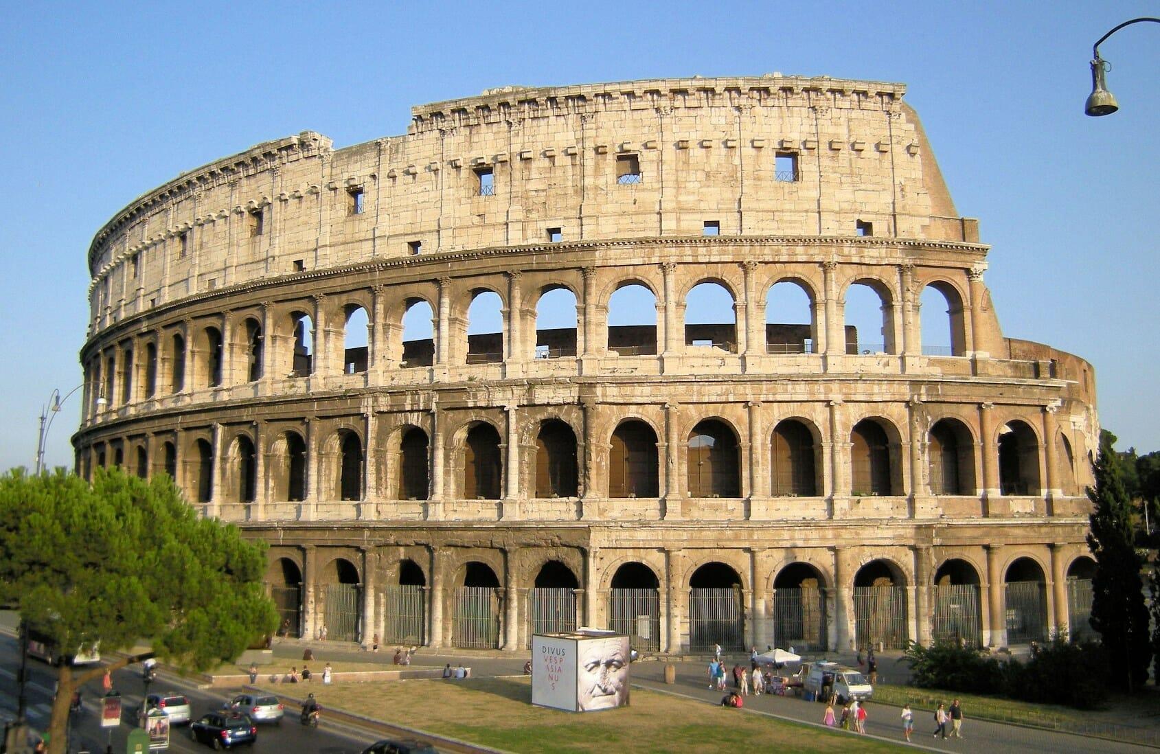 Rome Wheather Colosseum