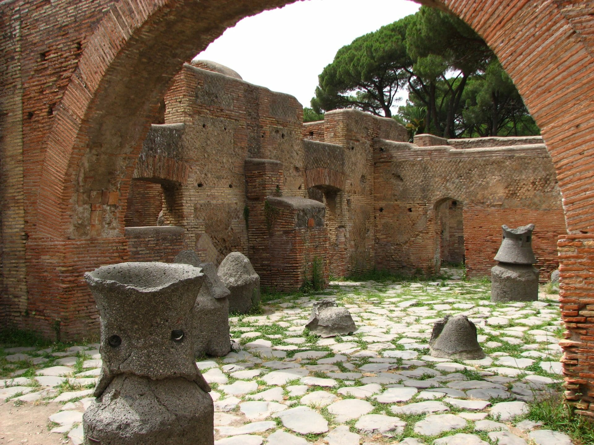 best day trips from rome by train Ostia antica