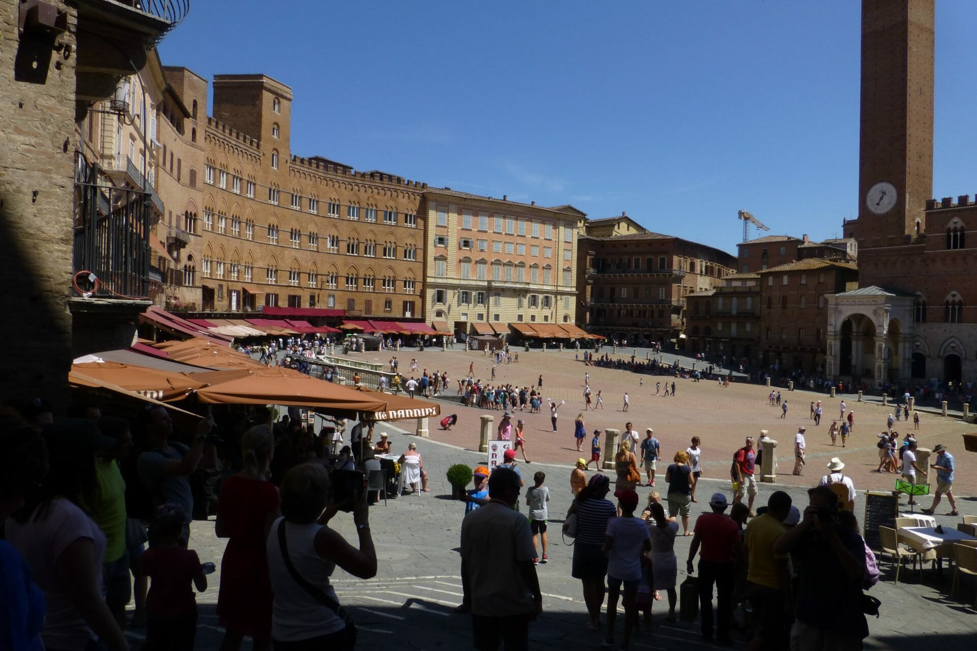 best day trips from rome Piazza del Campo