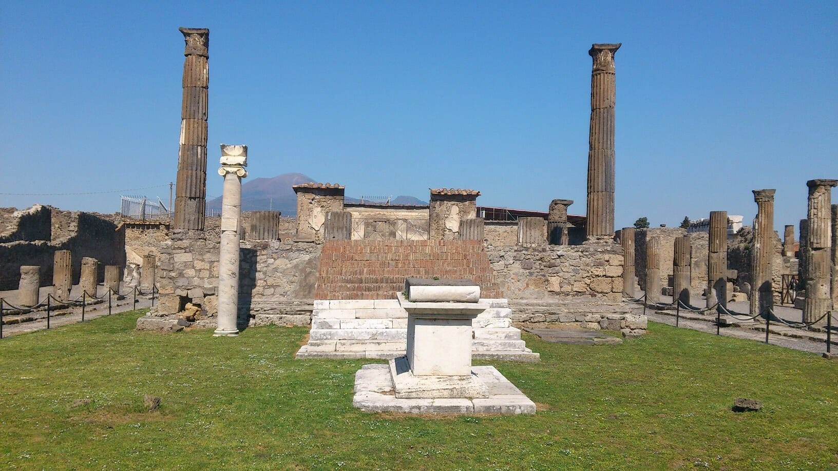 best day trips from rome Pompeii