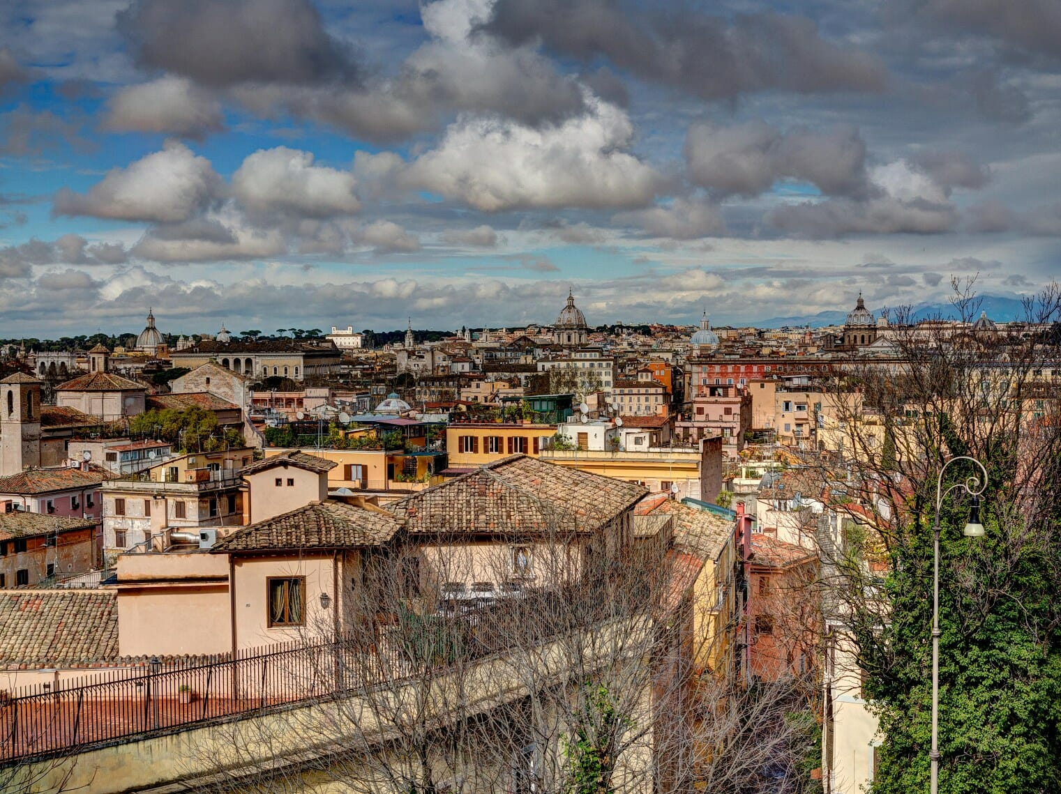 3 days in rome Panoramic view