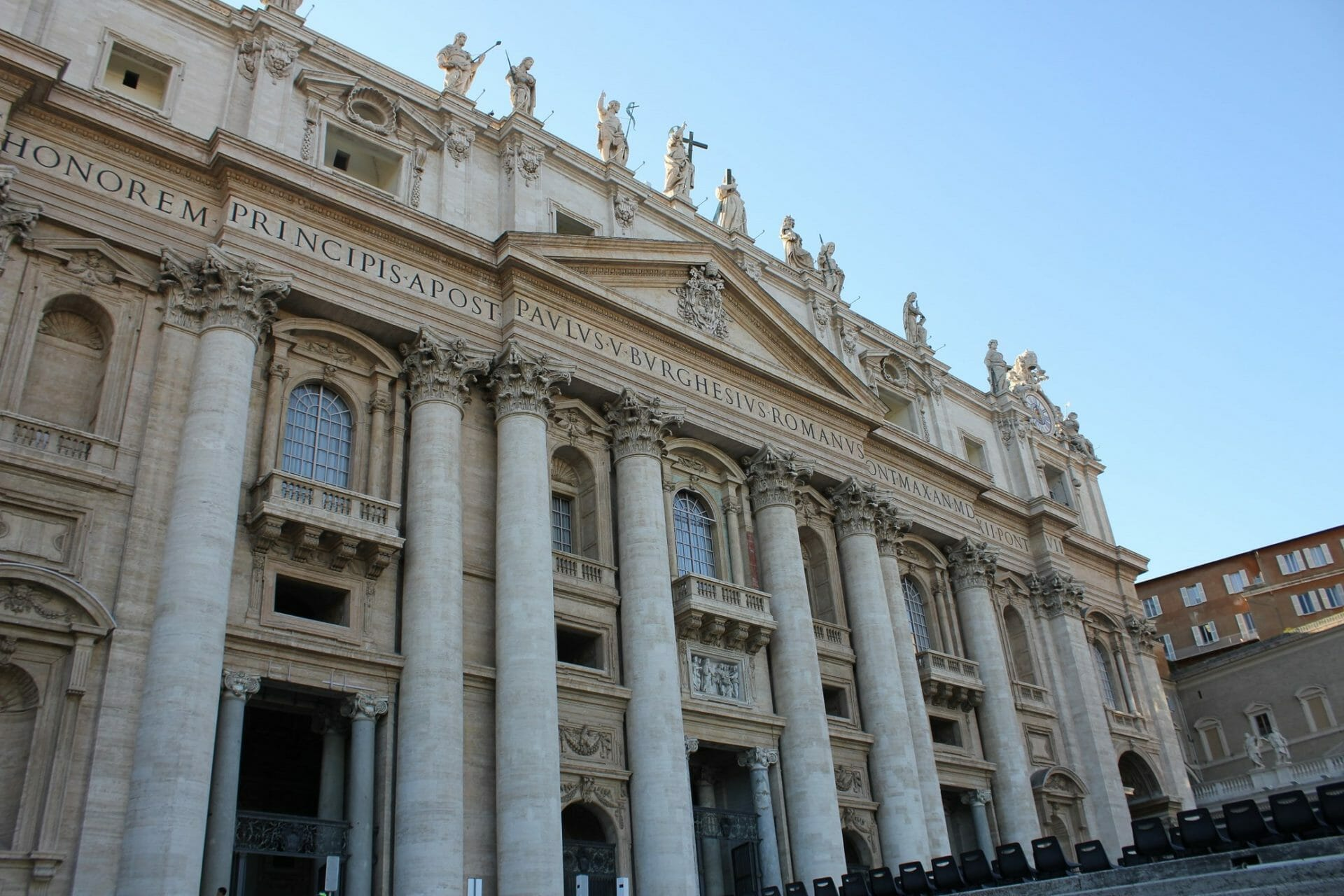 3 days in rome St Peter Basilica