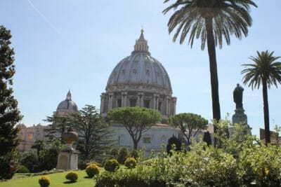 travel tips for rome Vatican Garden