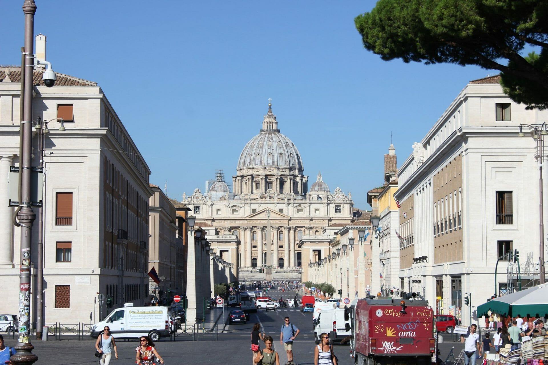 one week in rome Vatican
