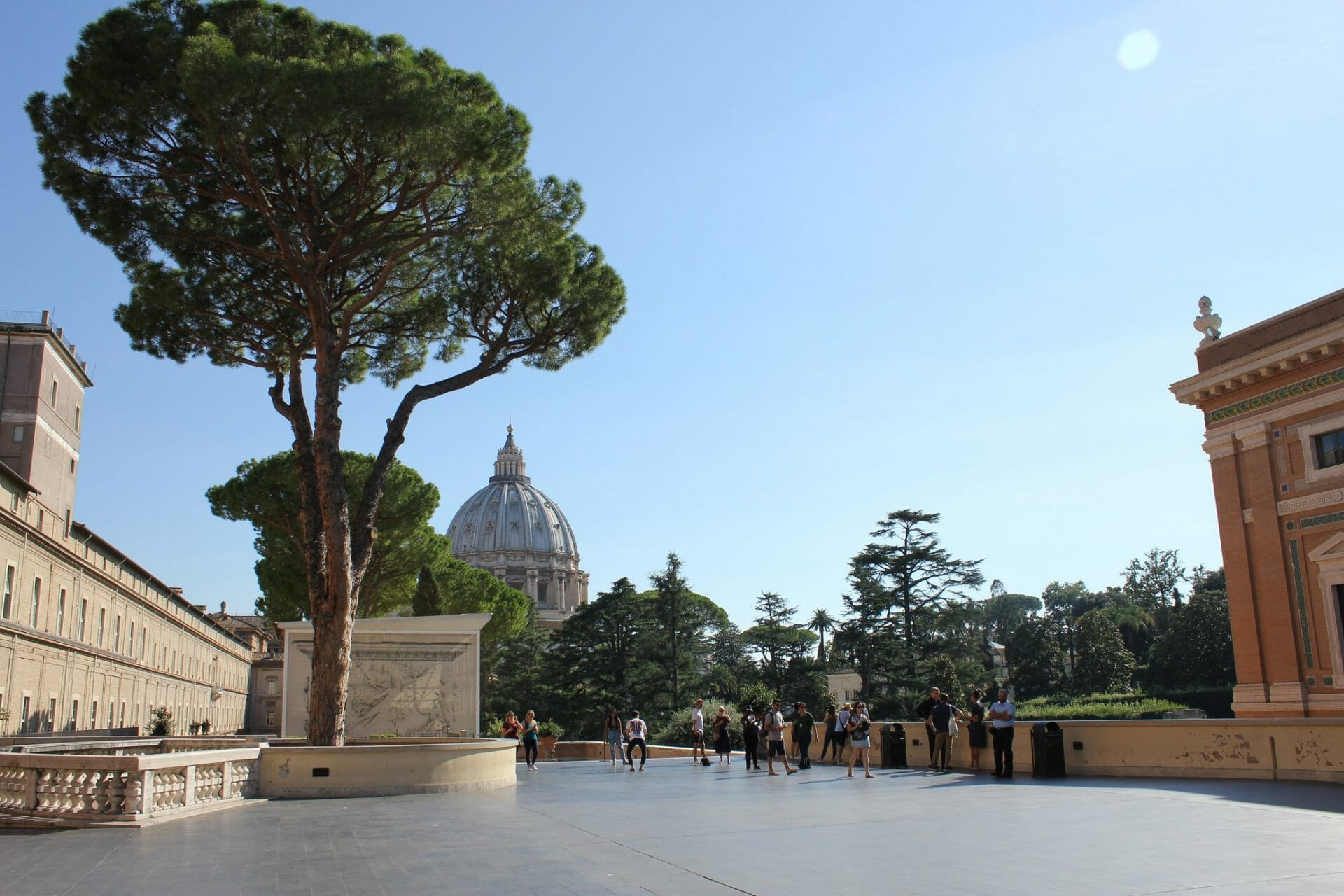 planning your trip to rome Vatican Garden