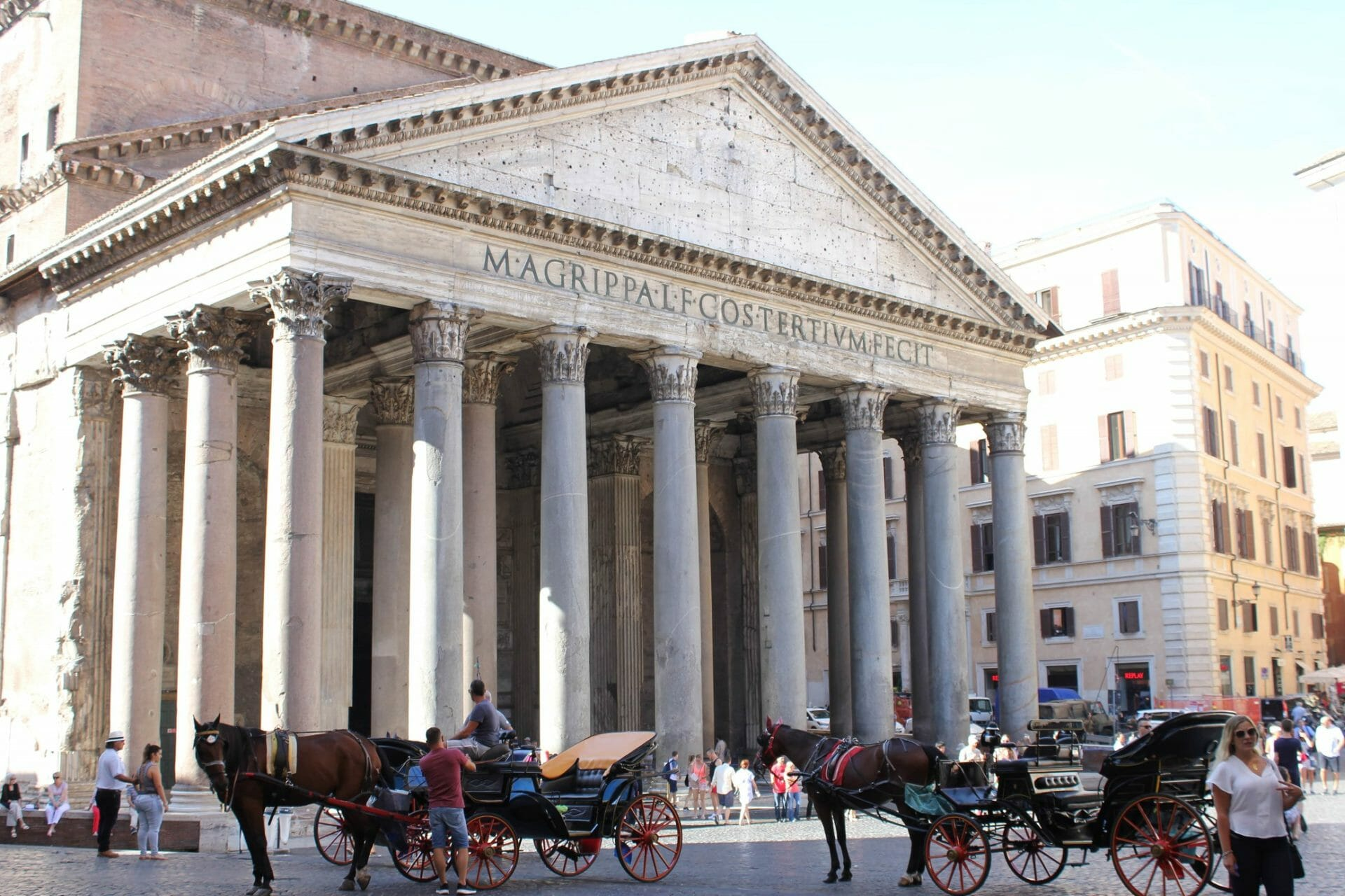 3 days in rome pantheon