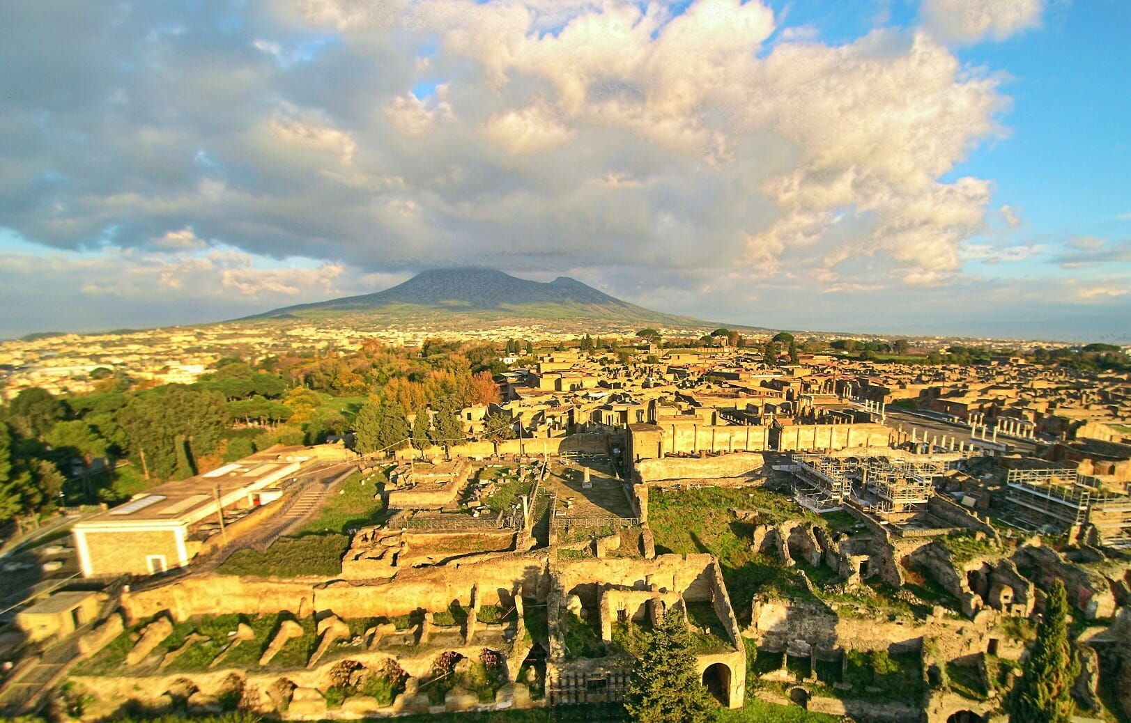 facts about rome pompeii