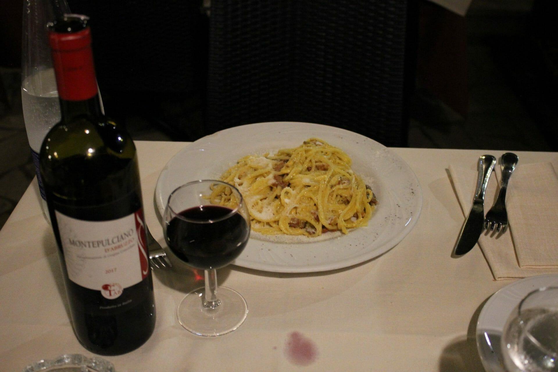 rome restaurants taverna abruzzese rome