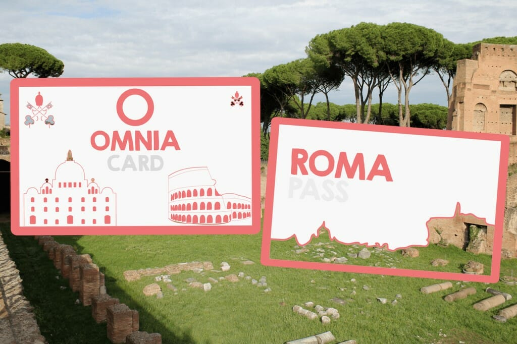 Roma pass cost vs omnia card