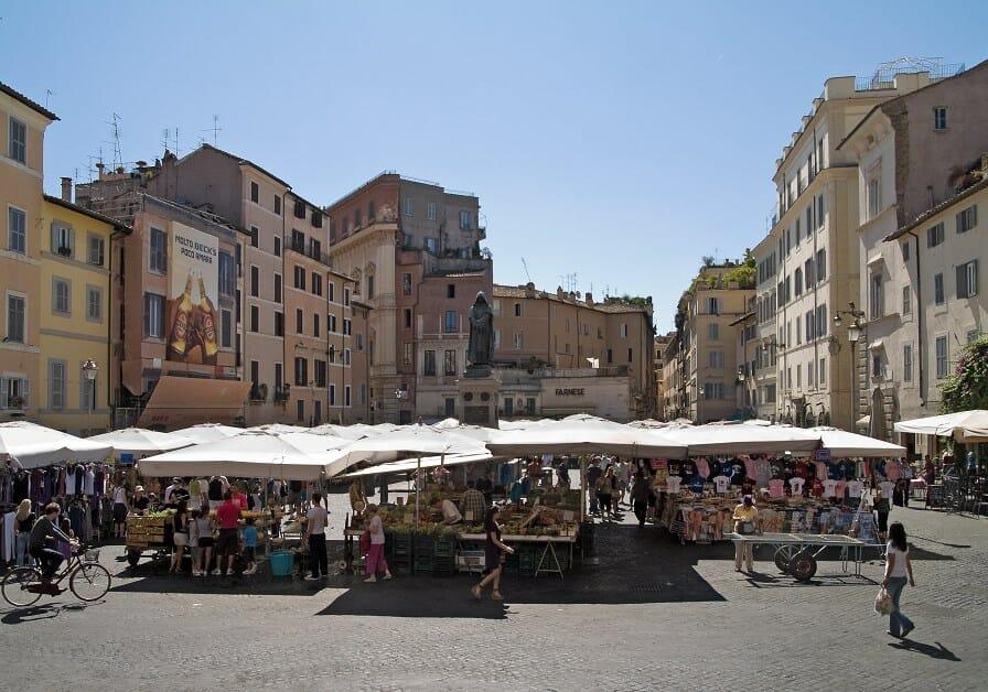 rome like a local Campo Dei Fiori