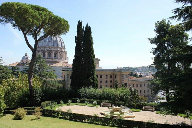 rome like a local Vatican Garden Basilica