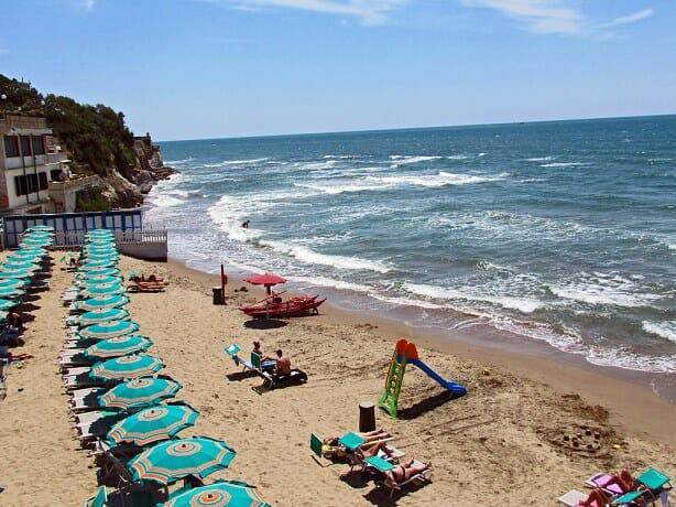 rome beaches Anzio