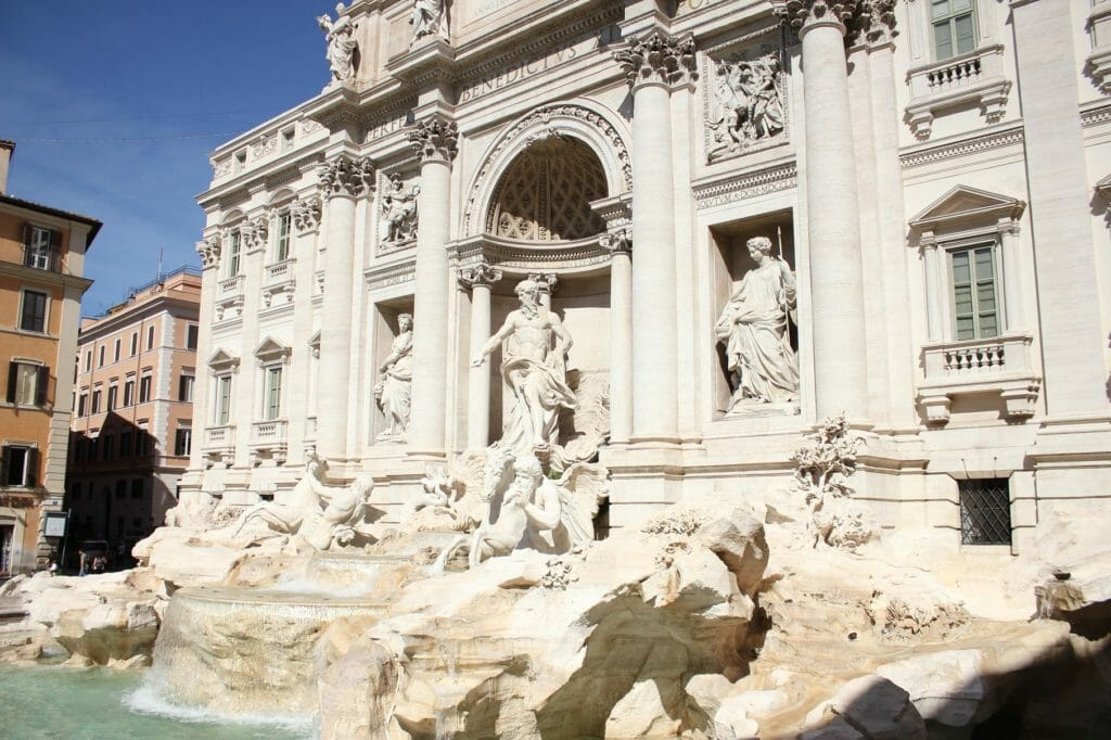 trevi fountain facts morning