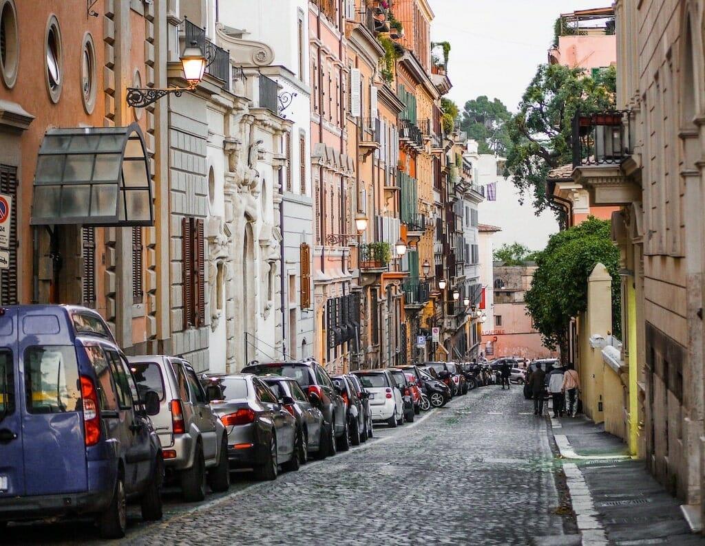 parking in rome Street