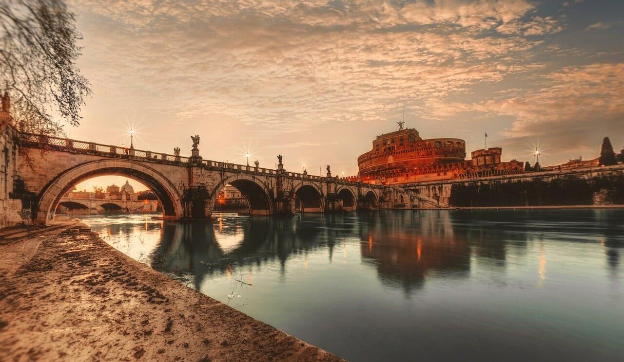 castel san angelo 360 panorama best views in rome