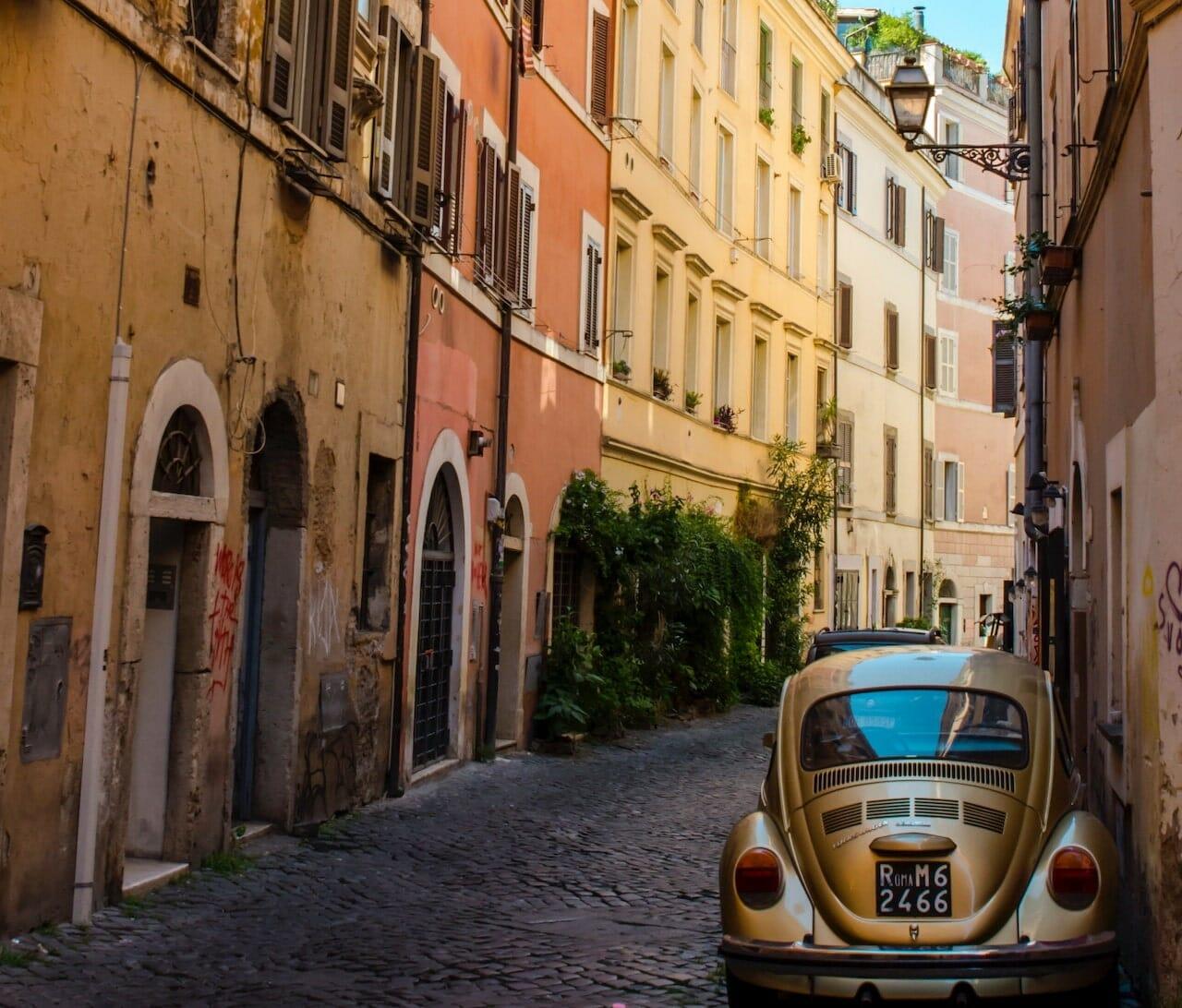parking in rome header