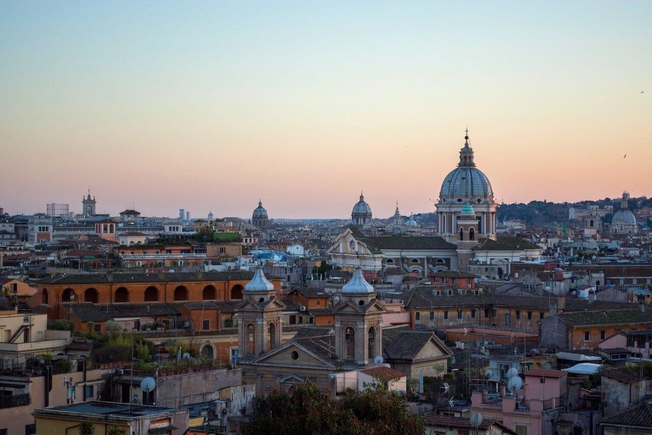 best views rome sunrise