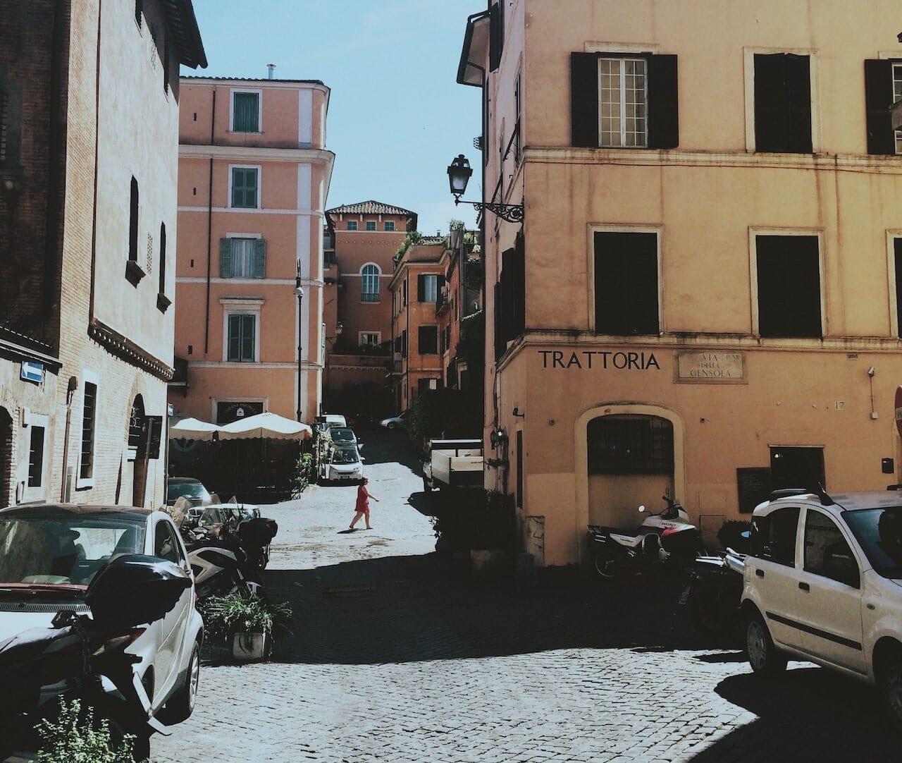 parking in rome Trastevere