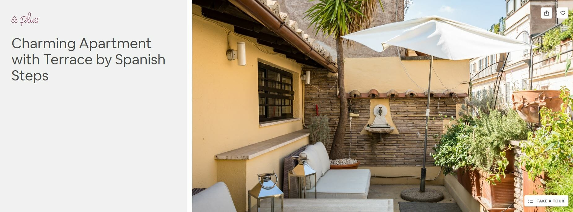 best airbnbs rome Charming Appartement with Terrace