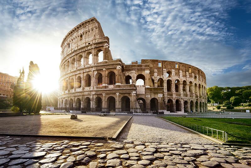 flights rome italy Colosseum Rome