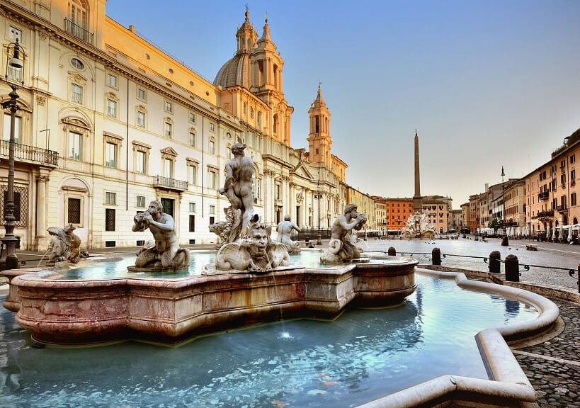 piazzas in rome Piazza Navona
