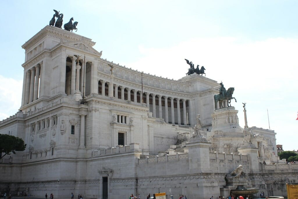 altar of the fatherland Vittorio Emanuele II
