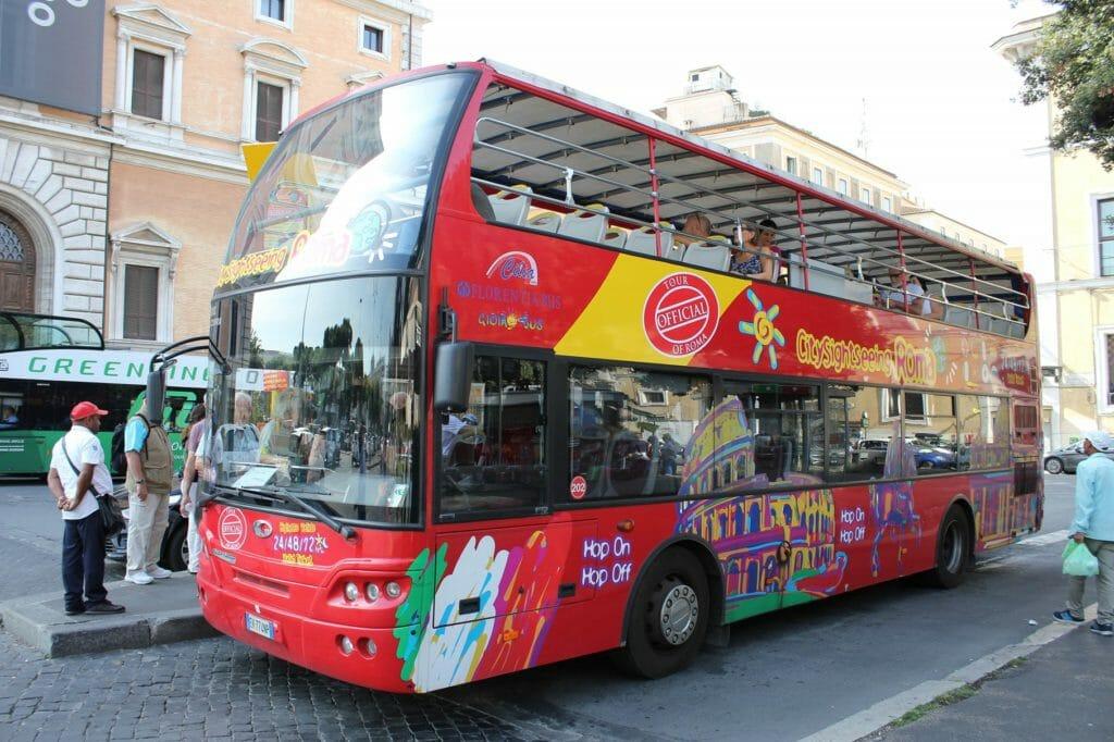 via appia rome hop on hop off Bus