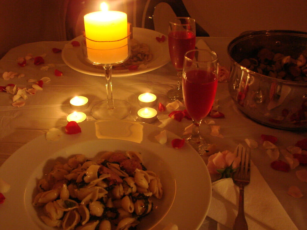 romantic restaurants in rome Dinner Table