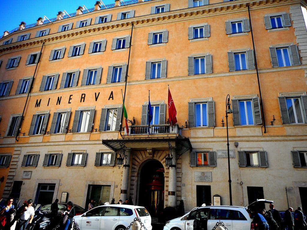 trastevere rome Hotel Minerva