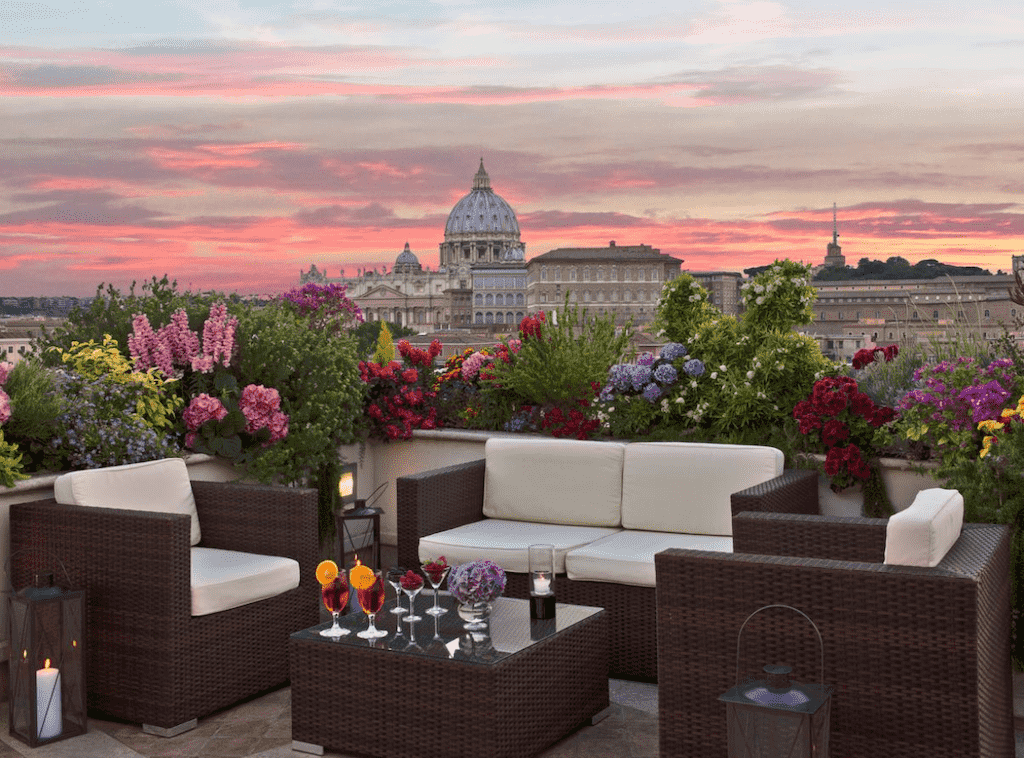 atlante star hotel and rooftop bar rome