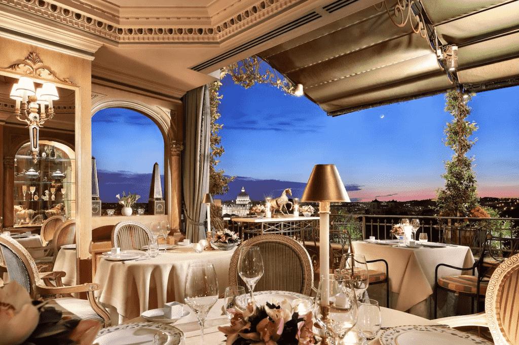 splendide royal hotel and rooftop bar rome