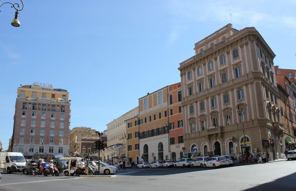 piazza barberini rome