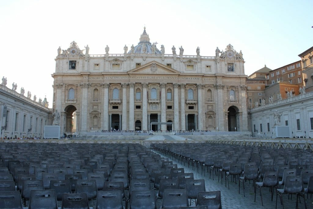 st peter's basilica ticket square
