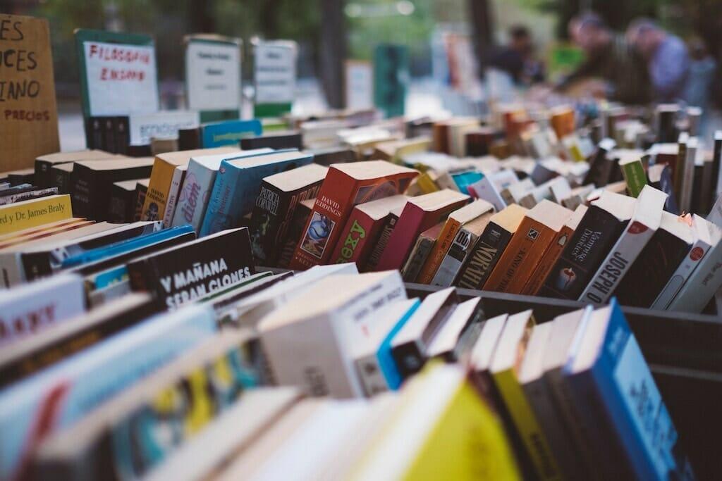 book market in rome
