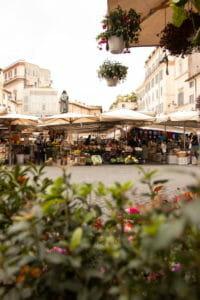 campo dei fiori markets in rome