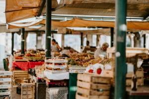 italian fruit markets in rome