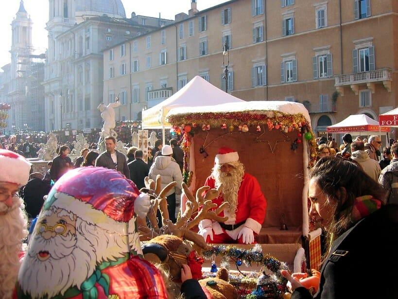 piazza navona rome Christmas Market